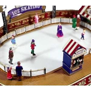 Mr Christmas Πίστα skating παγοδρόμιο με κίνηση και 50 μουσικές  22x32x9 εκ