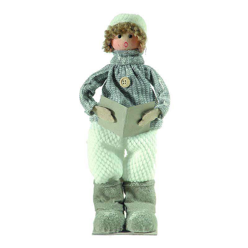 Χριστουγεννιάτικη διακοσμητική φιγούρα αγόρι 30x10 εκ