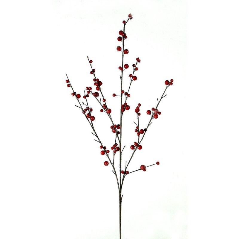 Χριστουγεννιάτικο διακοσμητικό κλαδί με berries 106 εκ